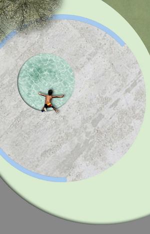 piscina biologica rotonda cerchio